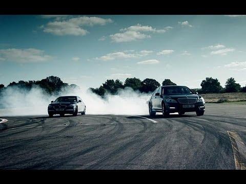 BMW 760Li vs Mercedes S63 AMG Now in Full HD | Top Gear | Series 14 | BBC