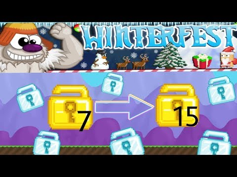 HOW TO DOUBLE YOUR WLS AND MORE DURING WINTER FEST! HOW TO GET RICH!!! Episode #8   Growtopia