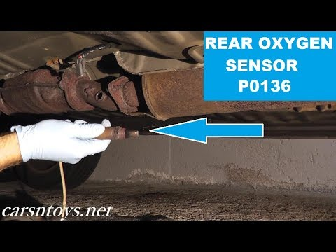 Rear Oxygen Sensor (After Catalytic Converter) Replacement P0136 HD