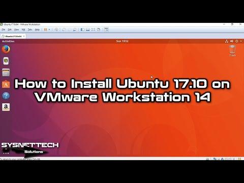 ✅ How to Install Ubuntu 17.10 on VMware Workstation 14 | How to Install VMware Tools on Ubuntu 17.10