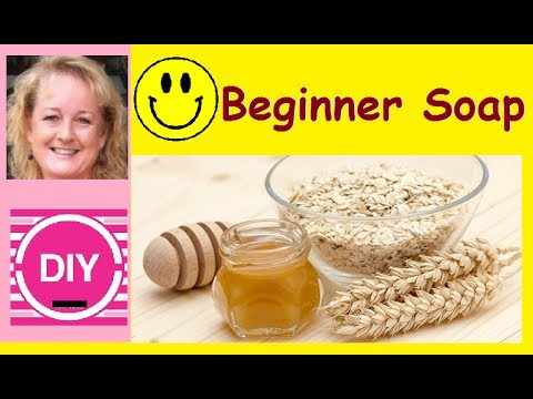 How to Make Honey and Oats Beginner Soap