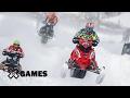 Petter Narsa wins Snowmobile SnoCross gold