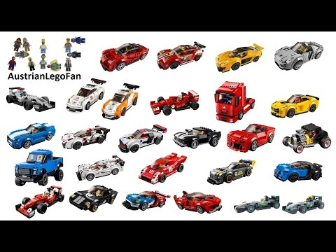 All Lego Speed Champions Cars ever made - Lego Speed Build Review