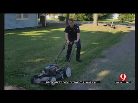 Shawnee Firefighter's Kind Deed Drawing Attention