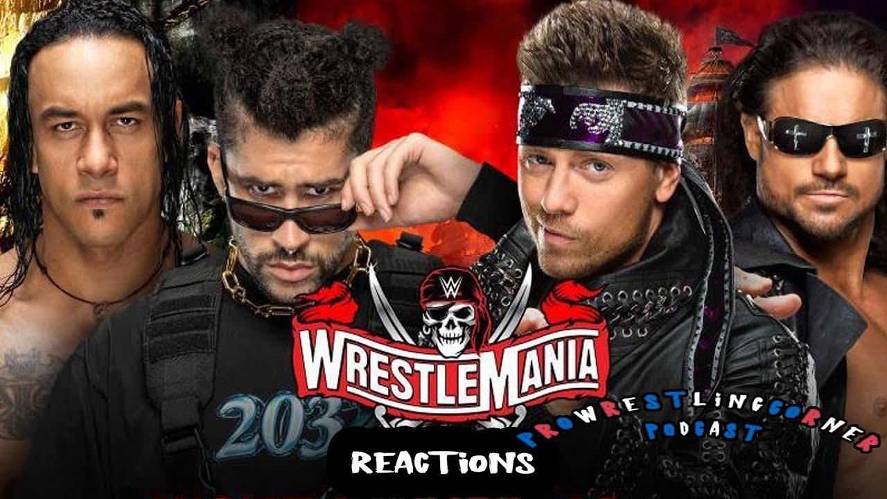 WWE WrestleMania 37 reactions: Bad Bunny & Damian Priest vs The Miz & John Morrison