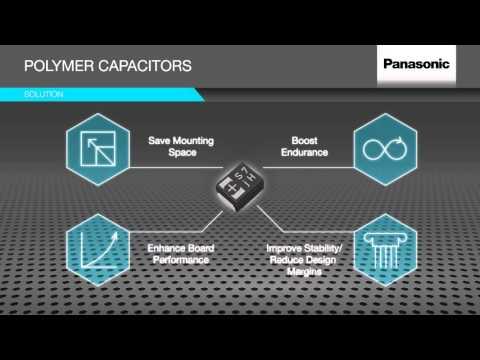 Panasonic Polymer Capacitors