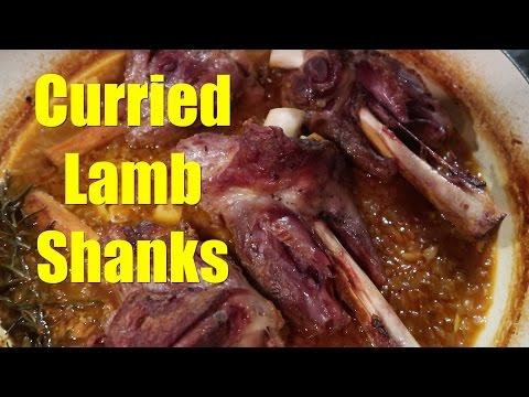 Curried Lamb Shanks