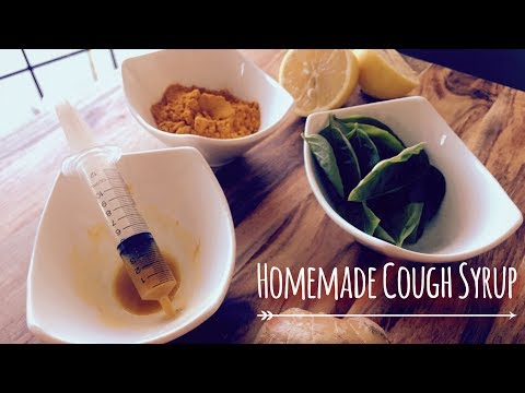 All natural homemade cough syrup for infants and toddlers | Home remedy