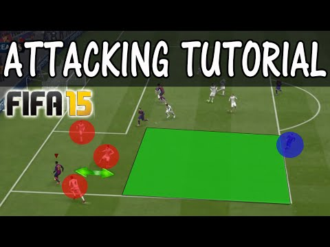 FIFA 15 ATTACKING TUTORIAL / Improve your attack using The DRAG BACK MOVE / Best attacking moves