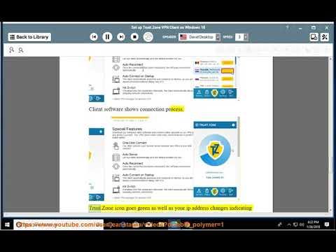 Set up Trust.Zone VPN client on Windows 10