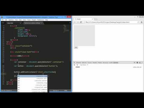 javaScript style height plus CSS3 height transition   demo 720p