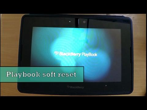 BlackBerry PlayBook soft reset | DarTech