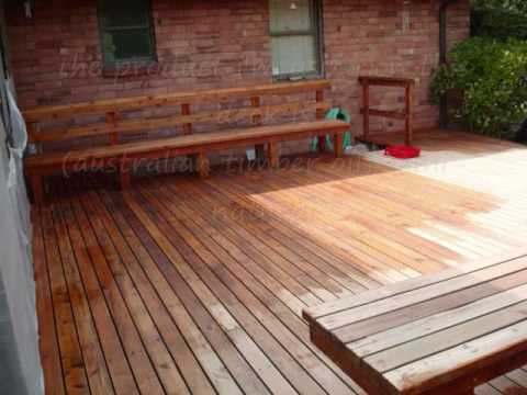 refinish stain a deck