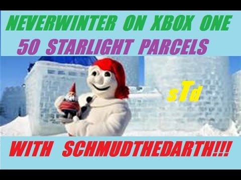 Xbox One 50 Starlight Parcel Opening On Neverwinter