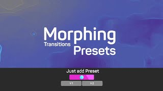 Morphing Transitions Presets Premiere Pro Templates