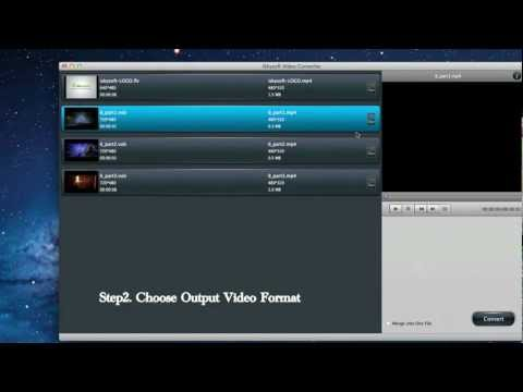How to Convert VOB to AVI on Mac OS X Lion Video