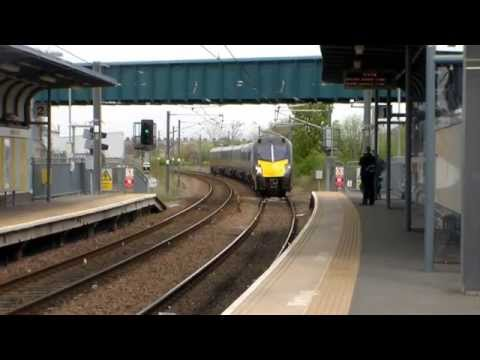 Grand Central Class 180, 180101, 5A65 Passing The Stadium of Light (5th May 2014)