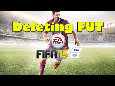 FIFA 15 Ultimate Team - Deleting Your Club