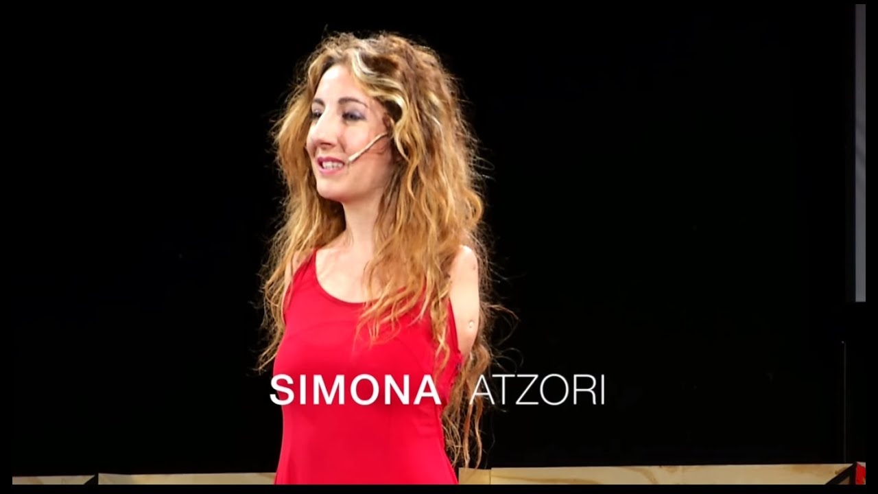Repaint your dreams | Simona Atzori | TEDxVerona