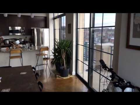 Quick DC  Apartment Tour (available to rent 3/1/2014)