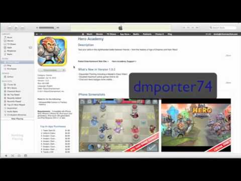Lets Play - iOS Game Hero Academy (Exchange Names play HERE)