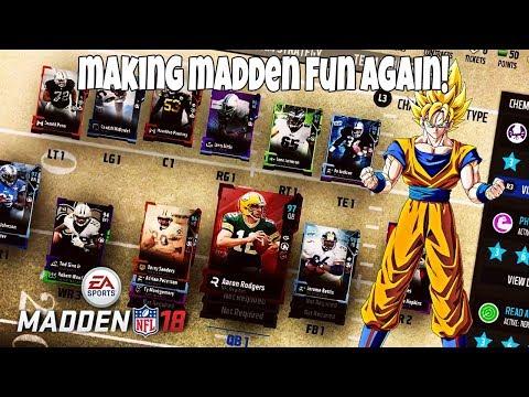 MAKING MADDEN FUN AGAIN! Madden 18 Ultimate Team