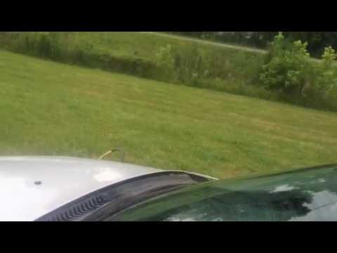Flushing windshield washer fluid (02 Taurus)
