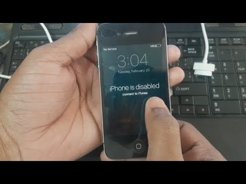 Iphone is disabled Fix All Iphone 4,4s,5,5s,6,6s,7,7s