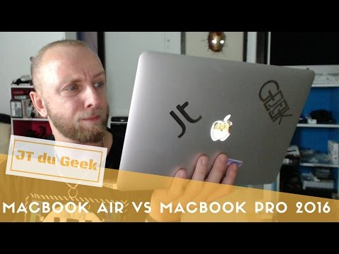 Macbook Pro 2016 Vs Macbook Air : Mon avis