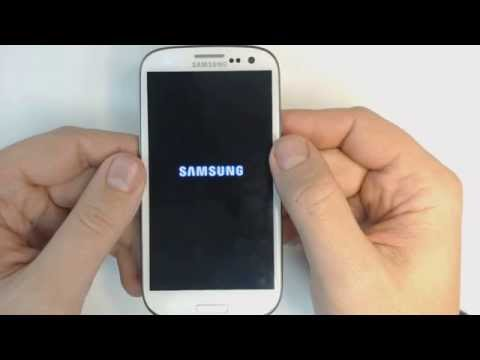 Samsung Glaxy S3 I9300 - How to remove pattern lock by hard reset