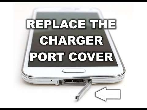 How to Replace the Samsung Galaxy S5 Charger Port Cover