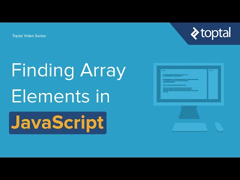 JavaScript Video Tutorial - Finding Items in an Array
