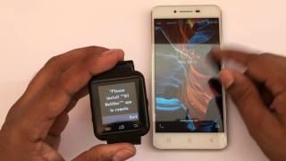 Bingo U8 Smartwatch | Techno Unboxing