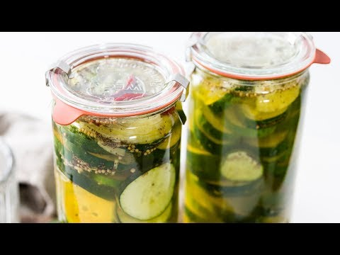 Fridge Pickles (No Canning Needed!)