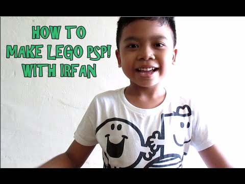 How to make Lego PSP with Irfan