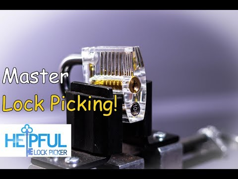 [166] How To Learn To Pick Difficult Locks( Master Lock Picking)