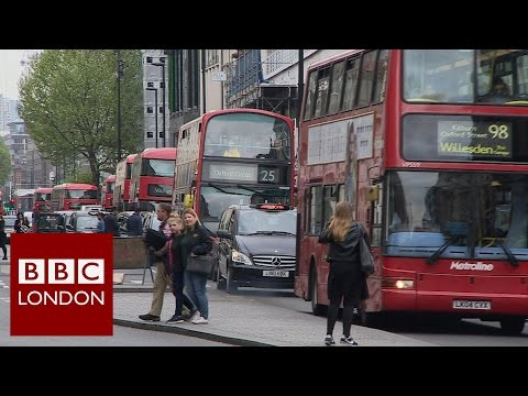 Bus numbers cut on Oxford Street – BBC London News