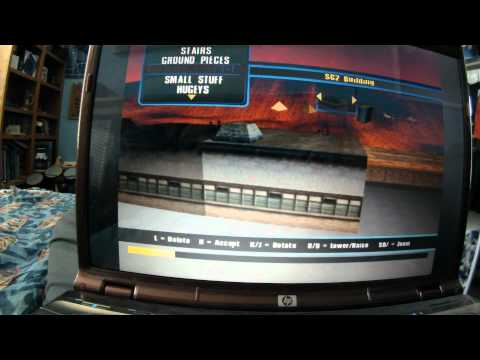 Tony Hawk's Underground 2 Object Stacking PC & PS2