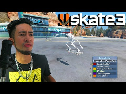 Skate 3 - FREESKATE AND TRYHARDING
