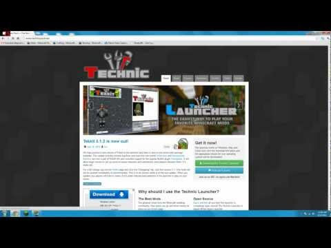 Technic Launcher - Download and .Exe Fix Tutorial