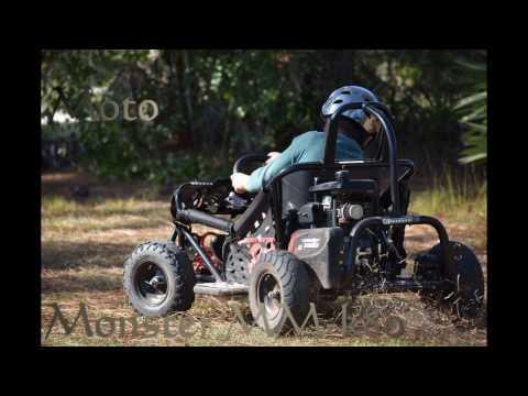 Amazing Monster Moto driving
