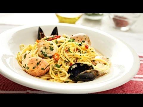 Ian Curley's Spaghetti Marinara