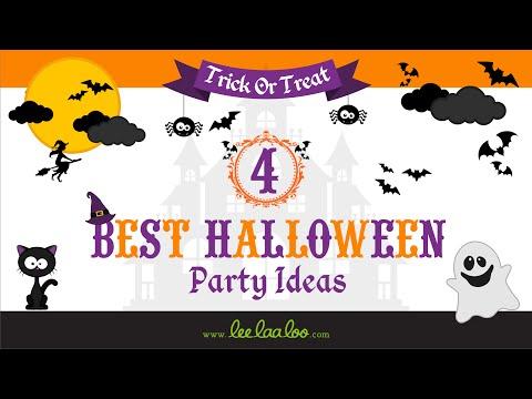 4 Best Halloween Party Ideas