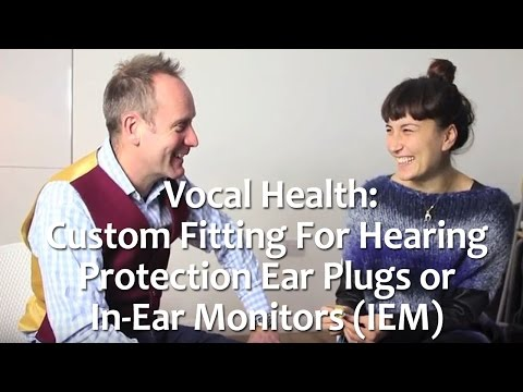 Custom fitting for hearing protection ear plugs or In-Ear Monitors (IEM)