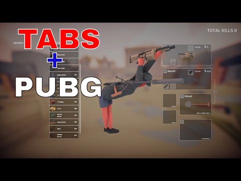 Totally accurate battlegrounds Shooting range - TABS meets PUBG -Let's play Totally accurate battl