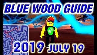 Roblox Lumber Tycoon 2 Blue Wood Maze Guide Road Map - 21 0 2018