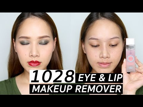 Review : 1028 eye & lip makeup remover | Melissa