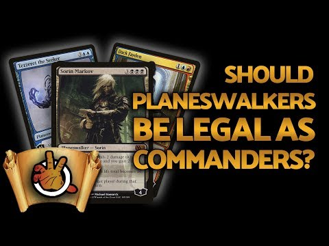 Should ALL Planeswalkers Be Legal As Commanders? | The Command Zone #214 | Magic: the Gathering EDH