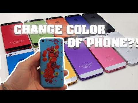 CHANGE YOUR IPHONE COLOR! (Not clickbait)