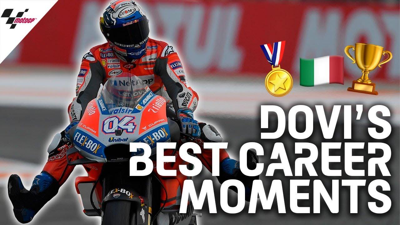 The Best Moments of Andrea Dovizioso's Career   #GrazieDovi